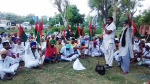 BKU(Krantikari) protested against the dilly-dallying attitude of Pb Govt towards farmers' demands